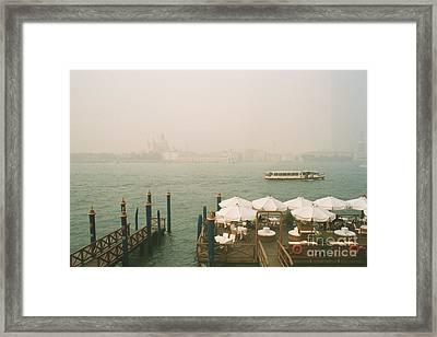 Venise Framed Print by Jan Daniels