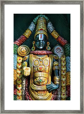 Venkateswara Framed Print by Tim Gainey