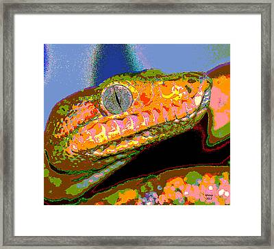 Venomous Framed Print by Charles Shoup