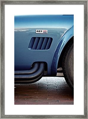 Vented Cobra Framed Print