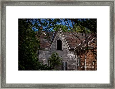 Ventilated Framed Print