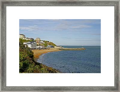 Ventnor Bay Framed Print by Rod Johnson
