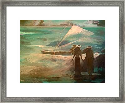 Vento Alle Hawaii Framed Print