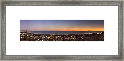 Ventura, Anacapa And Santa Cruz Islands Hdr Framed Print