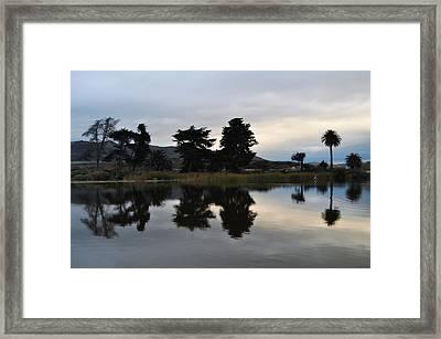Framed Print featuring the photograph Ventura California Coast Estuary by Kyle Hanson