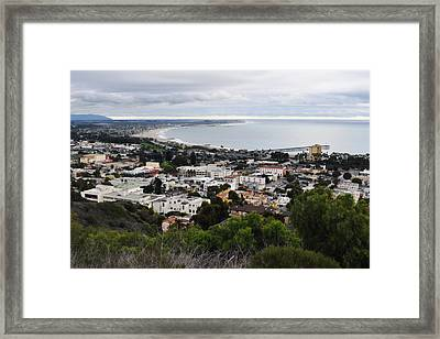 Ventura Coast Skyline Framed Print