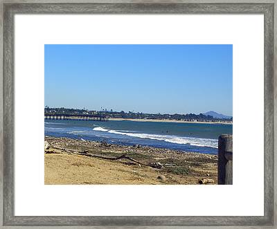 Ventura Pier 2 Framed Print by Robin Hernandez