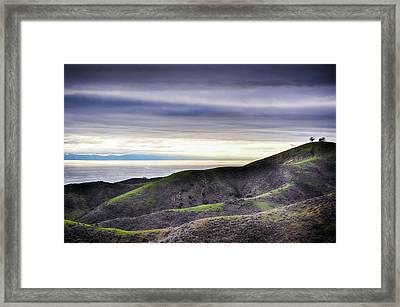 Ventura Two Sisters Framed Print by Kyle Hanson