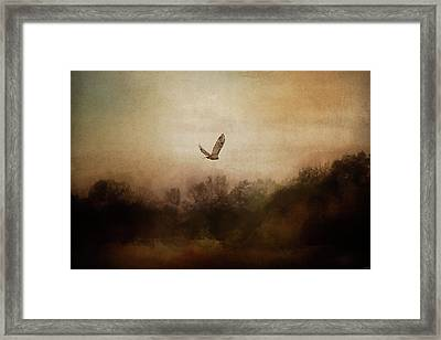 Venture Into The Unknown Framed Print