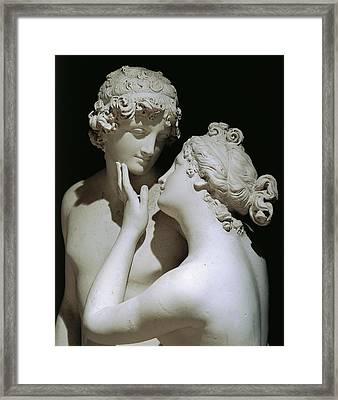 Venus And Adonis Framed Print