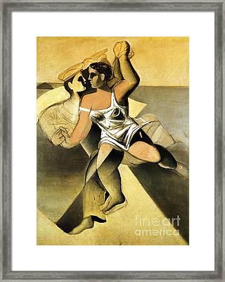 Venus And Sailor II Framed Print