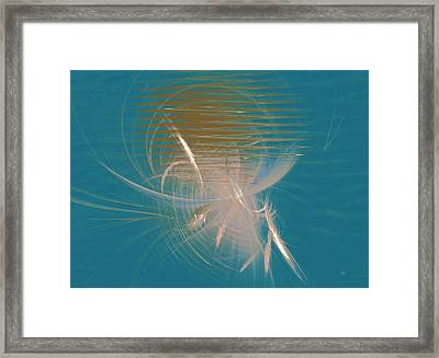 Venus Born Out Of The Sea Framed Print by Menega Sabidussi