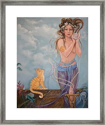 Venus  Framed Print by Catherine Moore