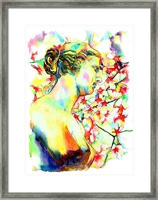 Venus De Milo Framed Print by Christy  Freeman