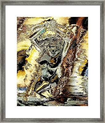 Venus Emerging From The Waves Framed Print by Peter Lloyd