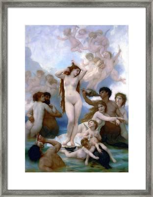 Venus Goddess Of Love Framed Print