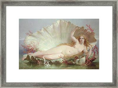 Venus Framed Print by Henry Courtney Selous