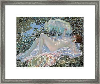Venus In The Sunlight Framed Print
