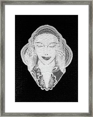 Venus Framed Print by Marie Halter