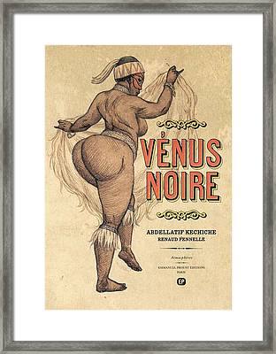 Venus Noire Framed Print