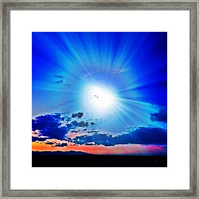 Venus Occultation 6-12 Framed Print