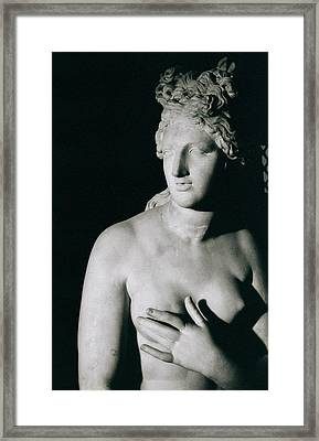 Venus Pudica  Framed Print by Unknown