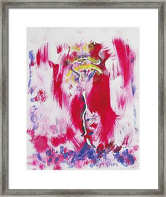 Venus Uprising Framed Print by Contemporary Michael Angelo