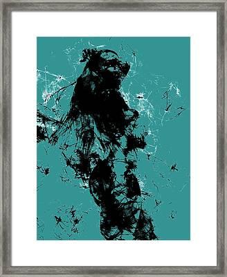 Venus Williams 4f Framed Print by Brian Reaves