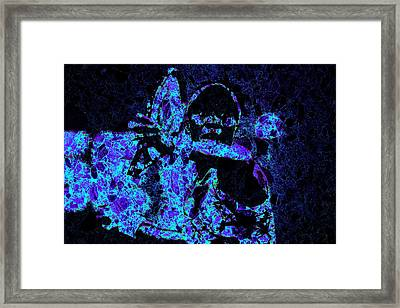 Venus Williams Eye On The Prize Framed Print