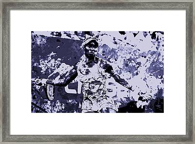 Venus Williams Stay Focused Framed Print by Brian Reaves
