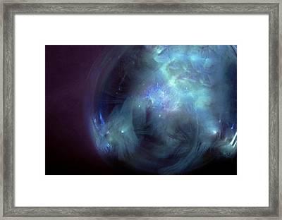 Venusian Portal Framed Print
