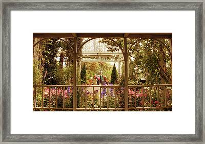 Veranda Views Framed Print by Jessica Jenney