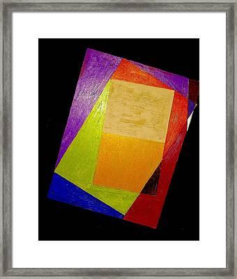 Verayshuns In A Theme 2 Framed Print by G Cuffia