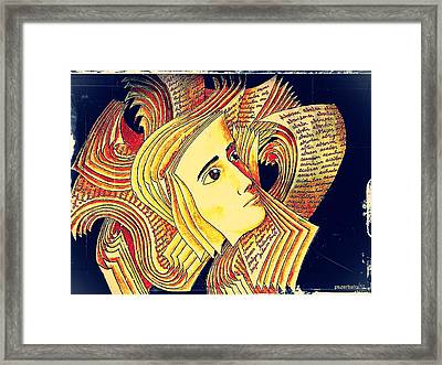 Verbal And Non Verbal Language Framed Print by Paulo Zerbato