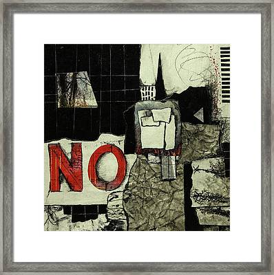Verbal Statement  Framed Print