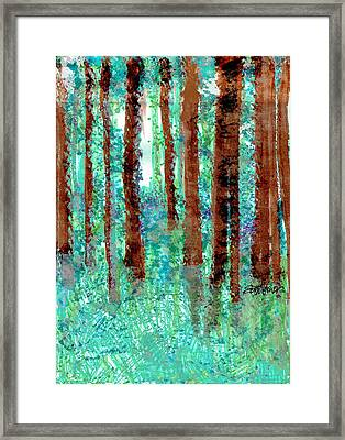 Verdant Vistas Framed Print by Seth Weaver