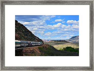 Verde Canyon Framed Print