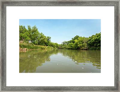 Verde River, Arizona Framed Print