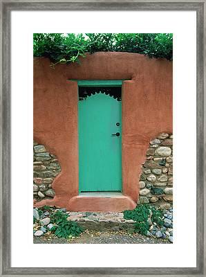 Verde Way Framed Print