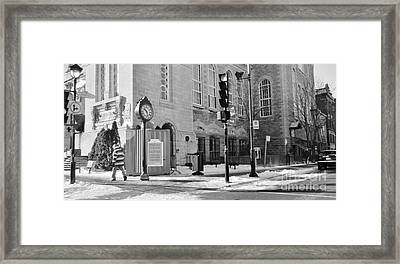 Verdun Street Photography Framed Print by Reb Frost