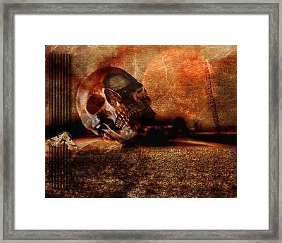 Vergaenglichkeit - Transience Framed Print by Mimulux patricia no No