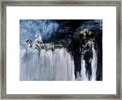 Verge Framed Print