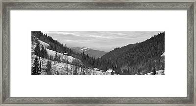 Framed Print featuring the photograph Verkhovyna. Bukovets, 2010. by Andriy Maykovskyi