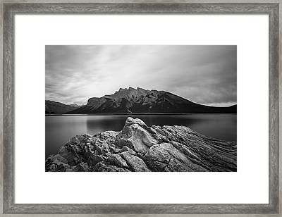 Vermilion Lake Framed Print