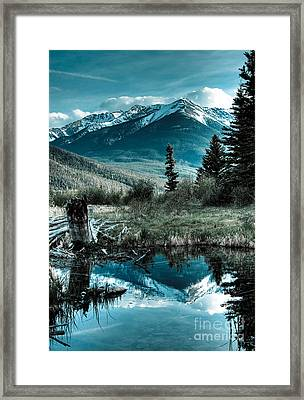 Vermillion Lake Framed Print