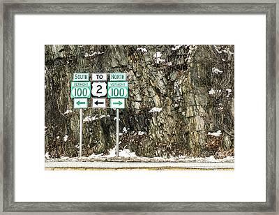Vermont 100 Framed Print by Liesl Marelli