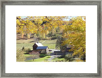 Vermont Beauty Framed Print by Lyn Vic