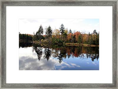 Vermont Reflections 2 Framed Print by George Jones