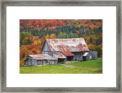 Vermont Framed Print by Robert Clifford