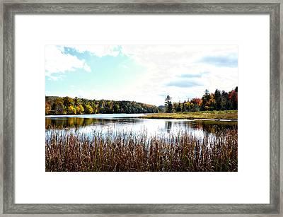 Vermont Scenery Framed Print